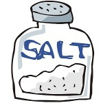 【高血圧】食塩を摂り過ぎるとなぜ血圧が上がるの?その理由とは