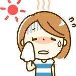 熱中症が起こりやすい時期と気象条件!ヒートアイランド現象が原因