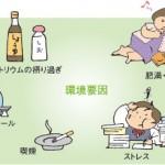 【血圧が高い原因】遺伝的要因と生活習慣で高血圧を引き起こす